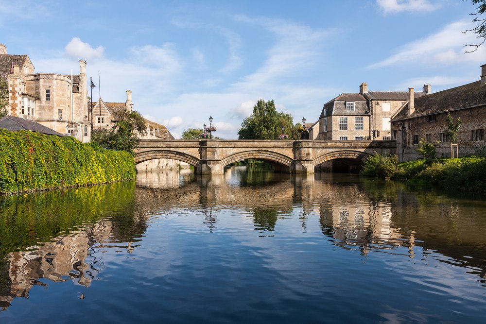 River welland in stamford
