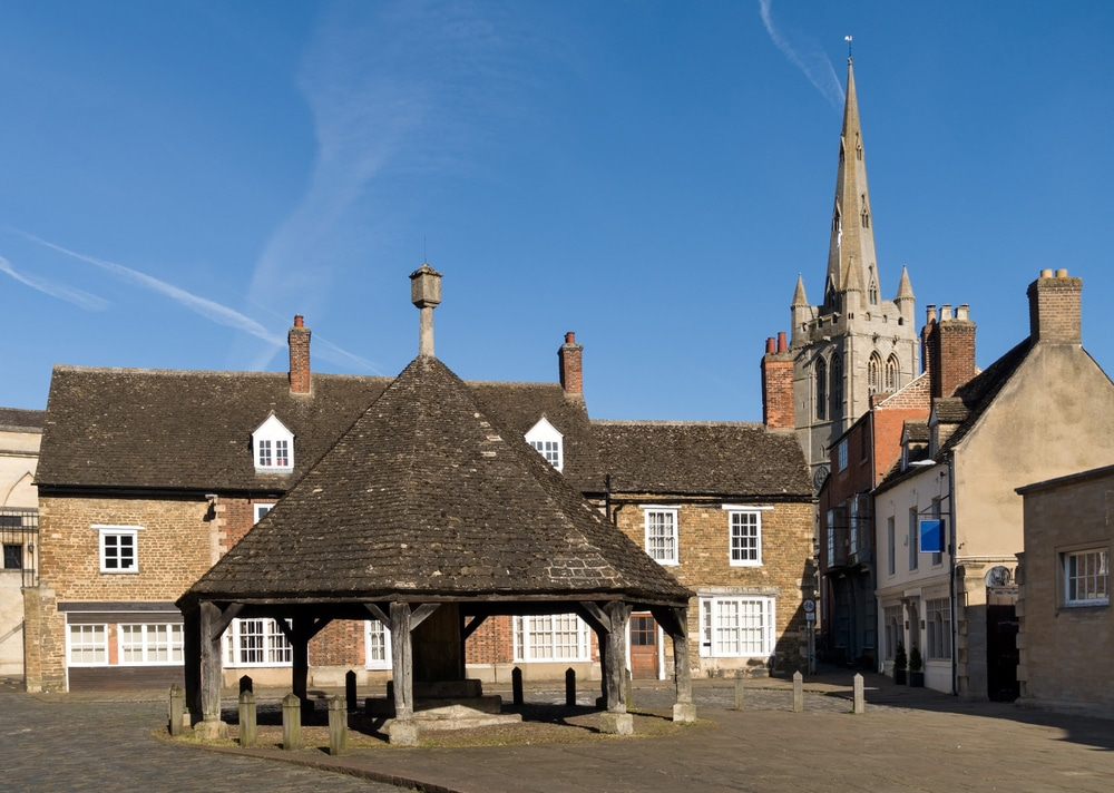 The Buttercross in Oakham, Rutland.